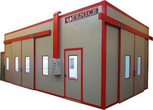 Plafoniere Per Cabine Di Verniciatura : Fenice machinery srl prodotti impianti di verniciatura
